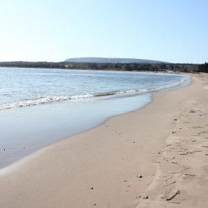 Nova Scotia Beaches: North Bay Beach, Ingonish