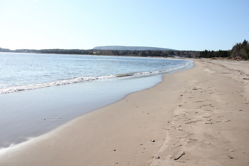 North Bay Beach Cape Breton Nova Scotia