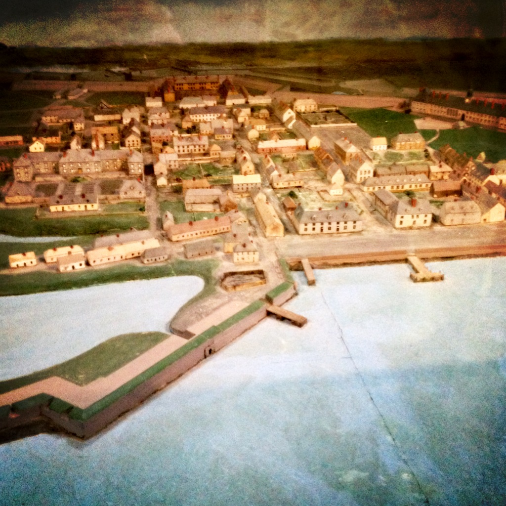 Actual Map of Fortress Louisbourg