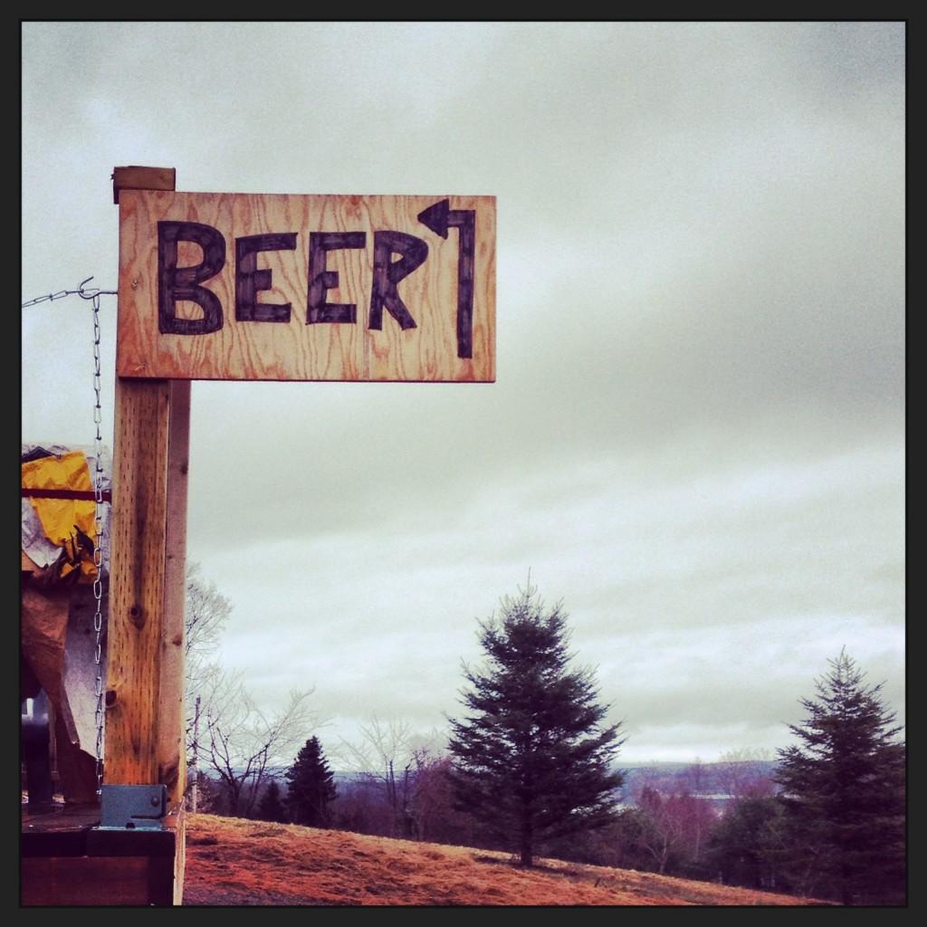 Beer Sign Big Spruce Brewing