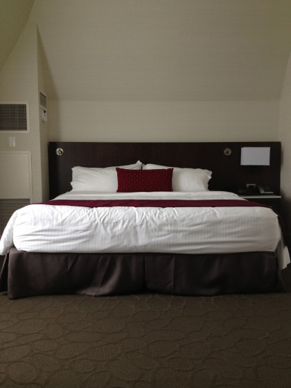 King Room at the Delta Fredericton