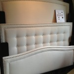 Bedroom DEcor - White Leather Headboards