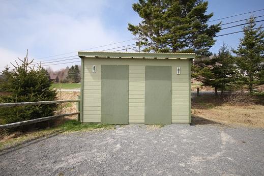 Cleveland Beach Washrooms Nova Scotia