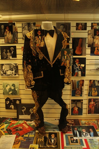 Black and Gold Sequin Suit