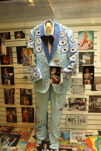 Blue Sequin Suit Hank Snow