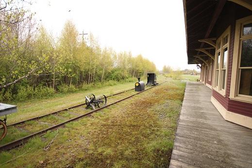 Old Nova Scotia Train Station Liverpool