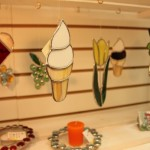 Ice Cream Cone Stained Glass