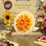 Flower Hair Clips at Artful Persuasion in Fredericton