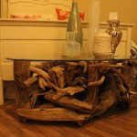 Driftwood Coffee Table by Barry Upton