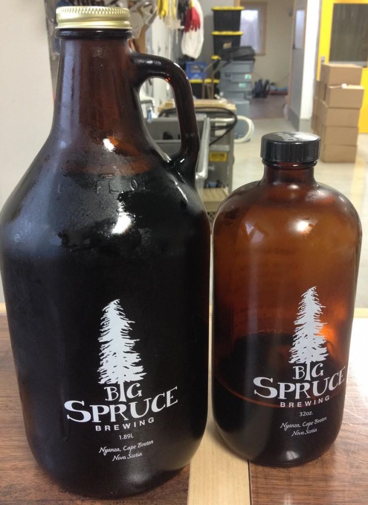 Big Spruce Organic Beer Cape Breton