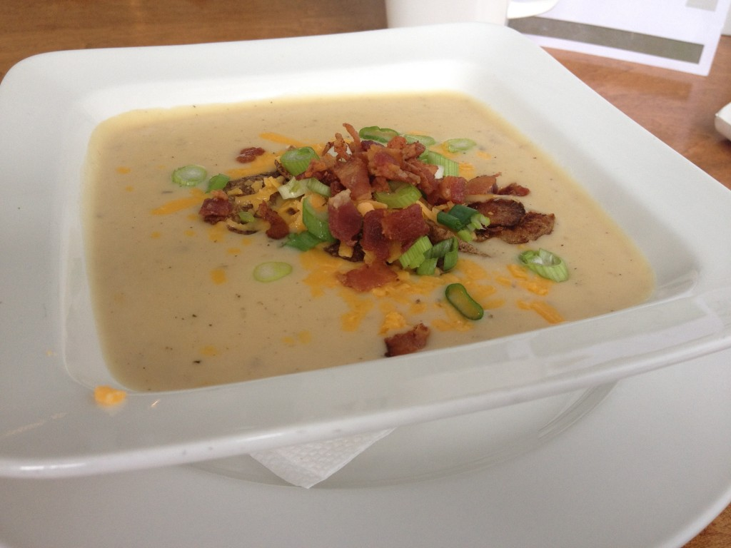Riverbank General Store Potato Soup