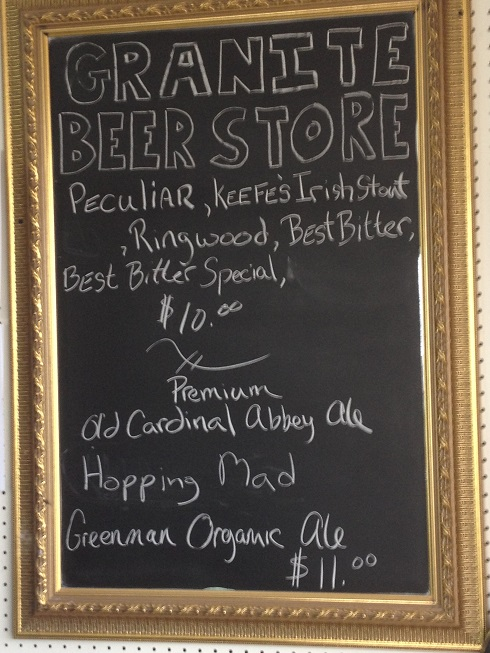 Craft BEer Specials Nova Scotia