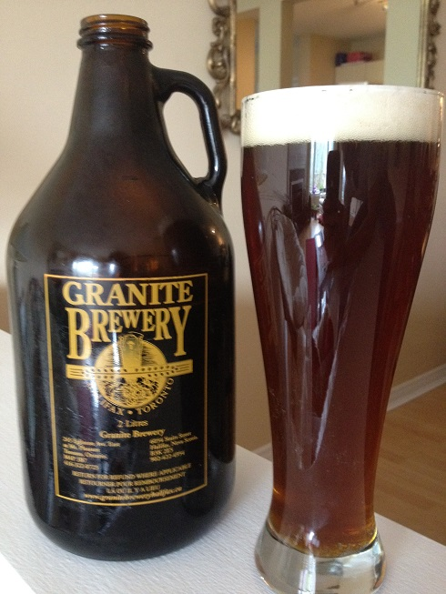Picture Granite Brewery Growler Nova Scotia