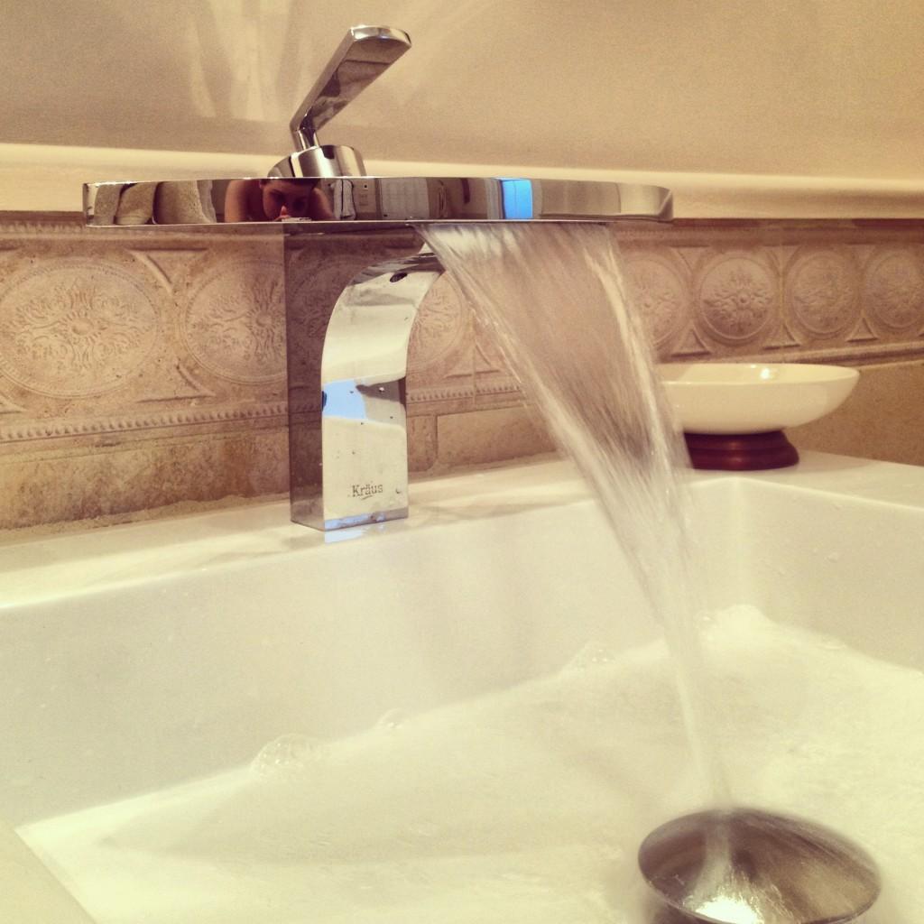 waterfall taps