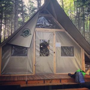 Kejimkujik Launches oTENTik Tent Village