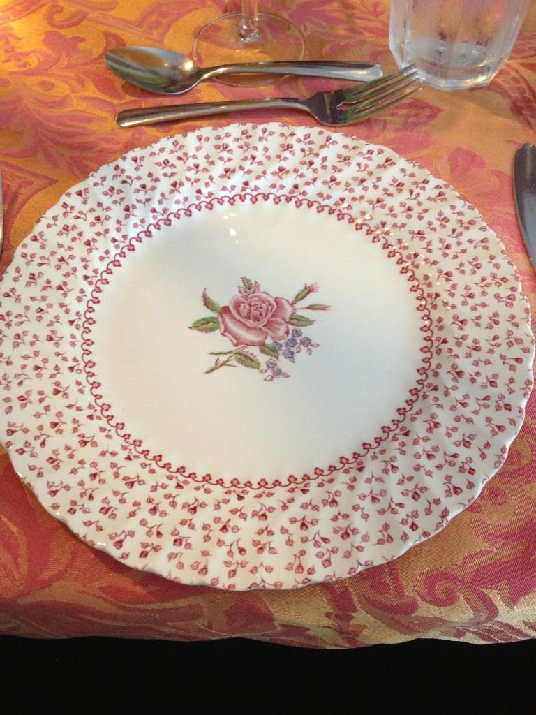 1812 plate setting liverpool nova scotia