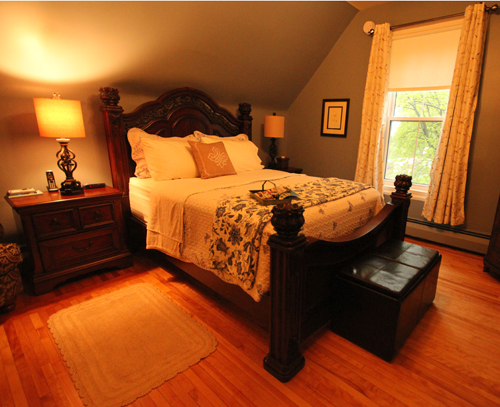 Beautiful bedroom in Fredericton NB