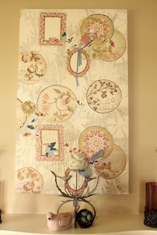 Designer home artwork at the Quartermain Inn in Fredericton