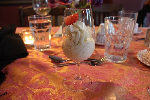 dessert originated in 1655 - lemon syllabub