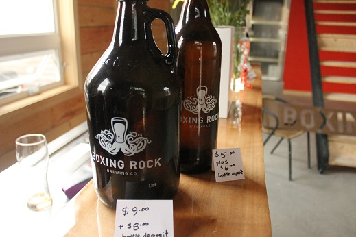Craft Beer Boxing Rock