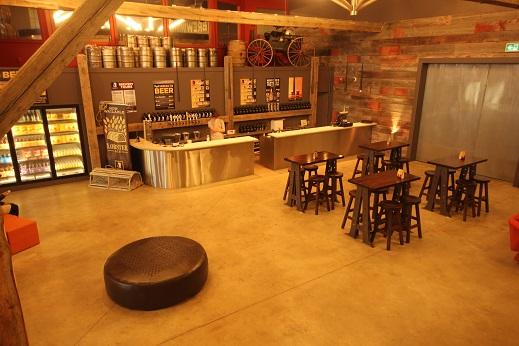 Interior shot of PEI Brewing