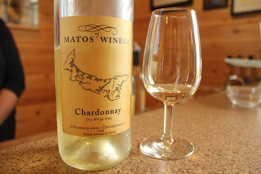 Un-Oaked Chardonnay from Matos Winery