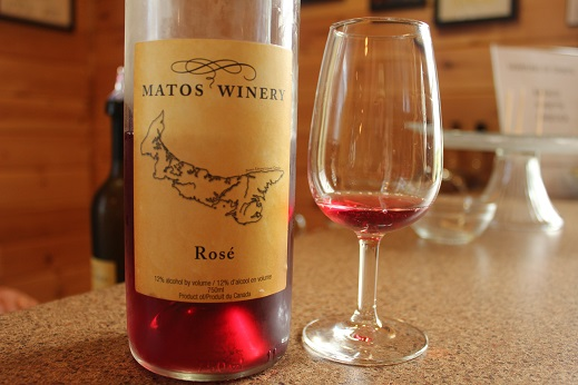 Prince Edward Island Rose PEI Matos Winery