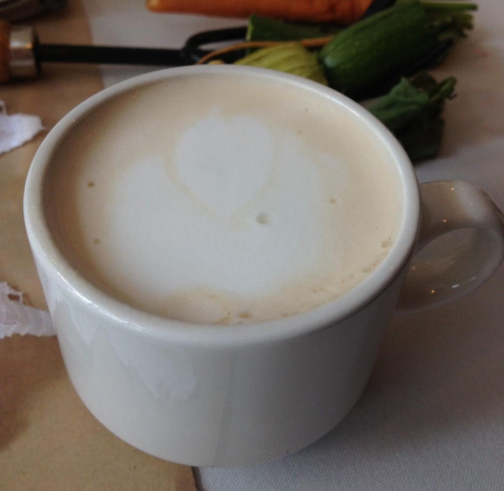 ust Us shows off their coffee art at Right Some Good pop-up