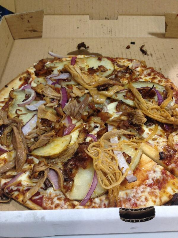 Pizza and Poutine