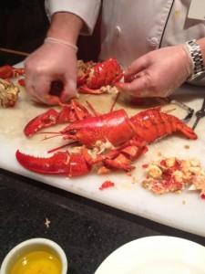 Lobster Dinner Delta Halifax