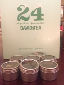DIY Spice Rack Davids Tea Advent Calendar