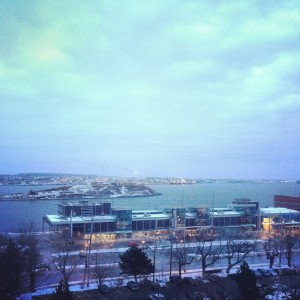 View from The Westin Halifax