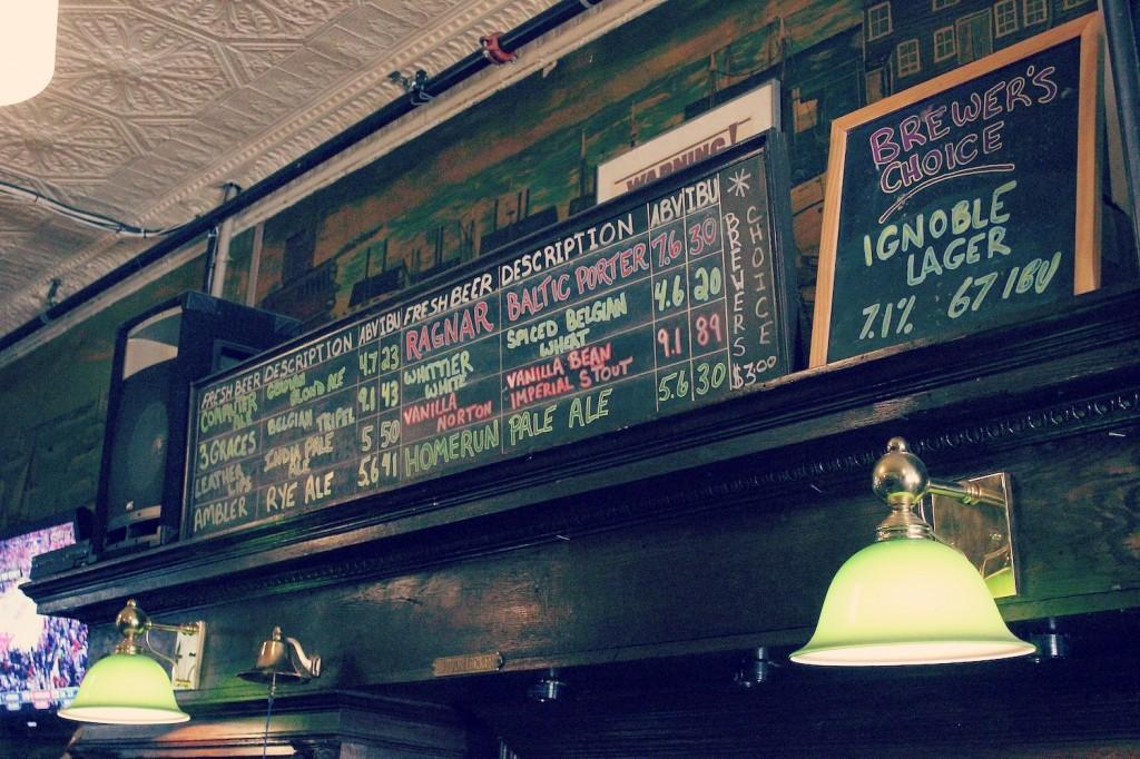 Taps Bar and Brewpub in Haverhill Mass