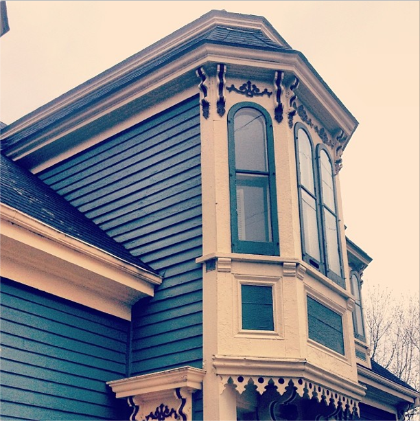 The Lunenburg Bump - the Facebook of architecture, solely built for people watching.