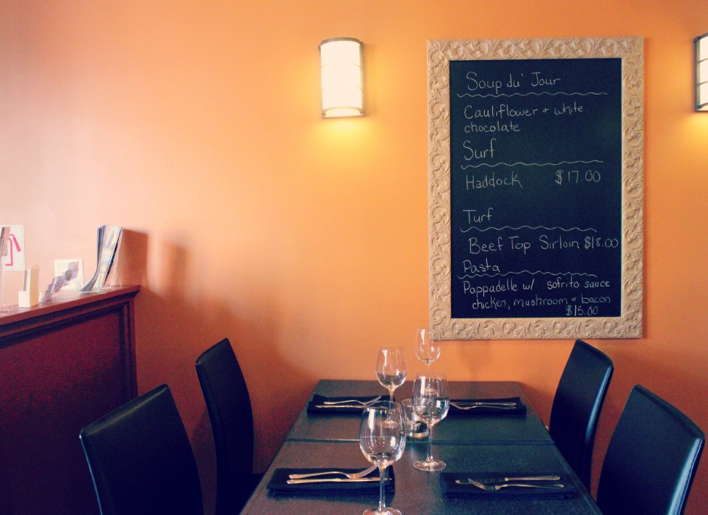 Blackrock Bistro Menu