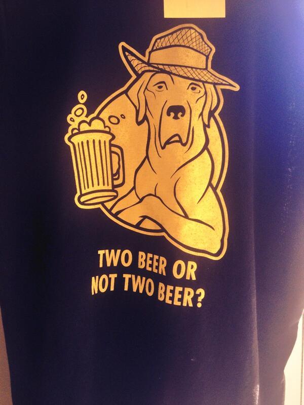 Shakespere Shirt Big Axe Brewery
