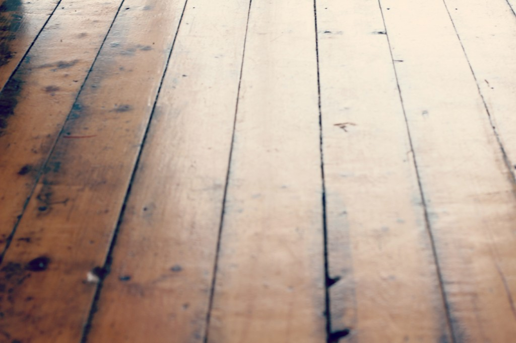Matt, Christiane, and the Jost family have completely re-done the space. These beautiful wood floors are one of the only remaining original elements.