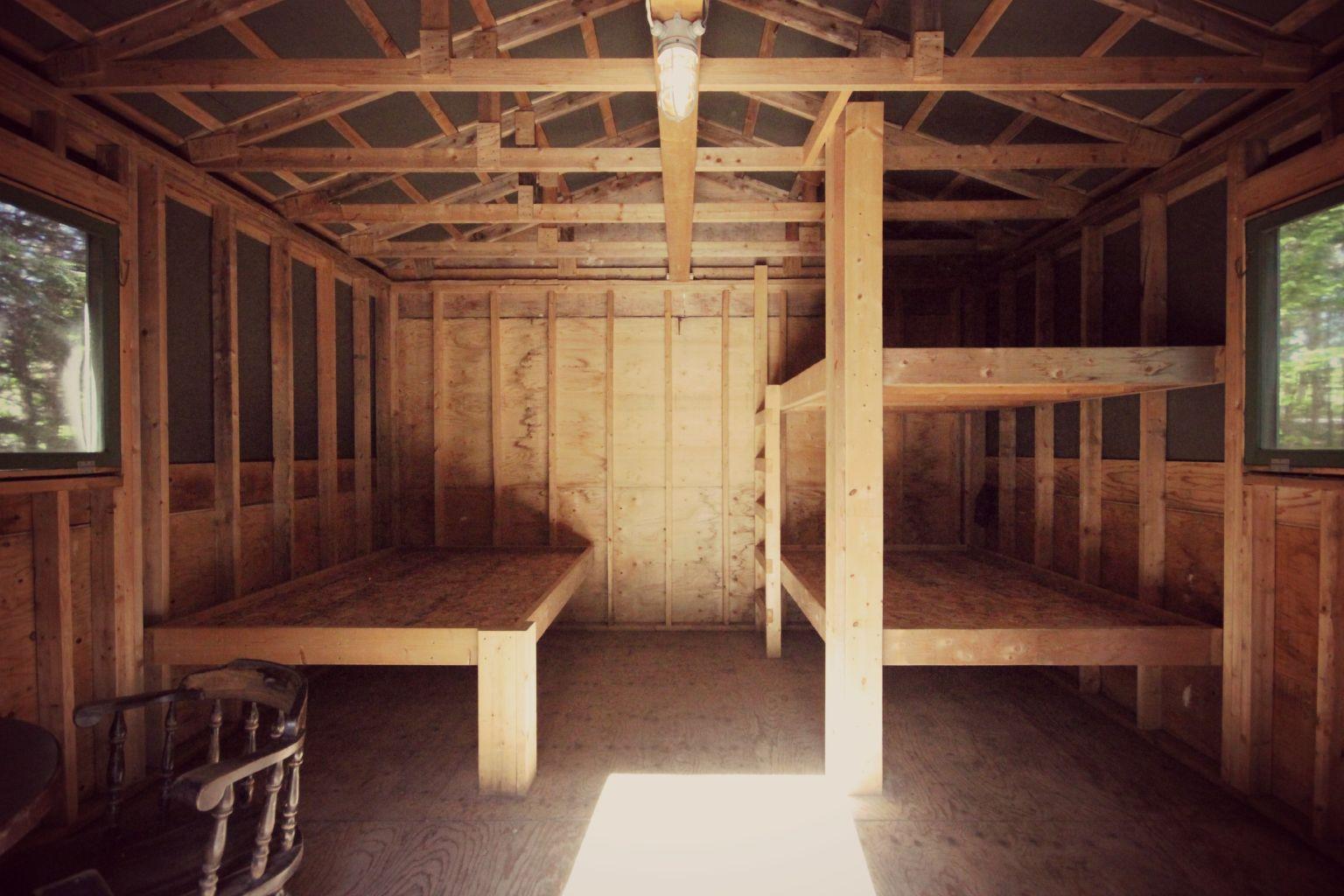 Rustic Shelter Camping At Mactaquac Park Fredericton Nb
