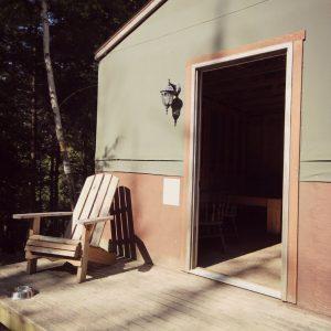 Rustic Shelter Camping at Mactaquac Park – Fredericton, NB