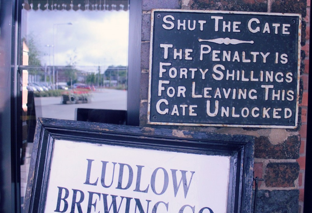 Ludlow Brewing Company Shopshire