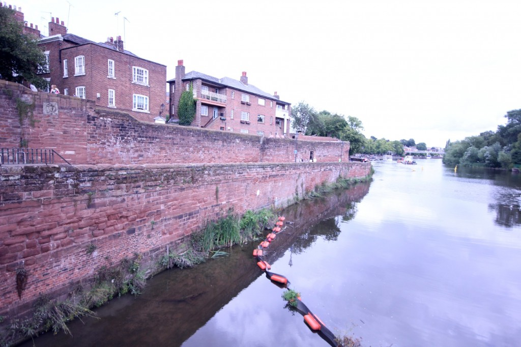 chester UK Wall