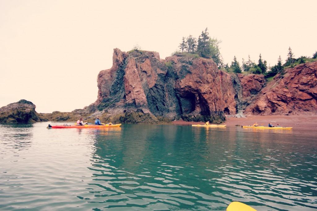 Kayak the Bay of Fundy - Nova Shores
