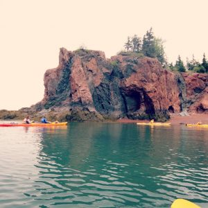 Kayaking the World's Highest Tides at Nova Shores – Cape Chignecto, NS
