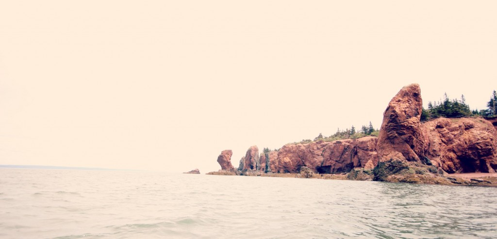 The Three Sisters Bay of Fundy