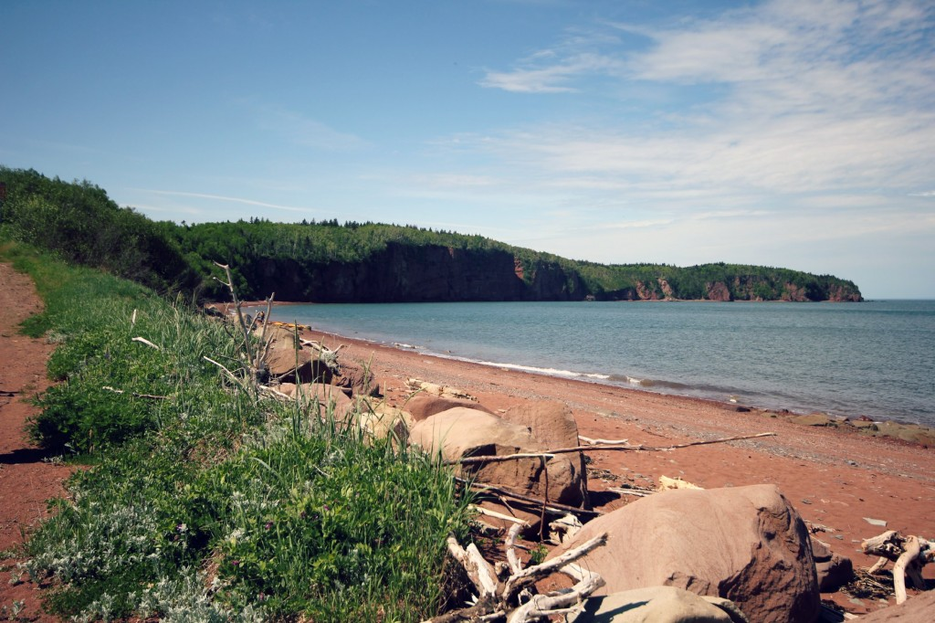 Kayak the bay of fundy Advocate Harbour