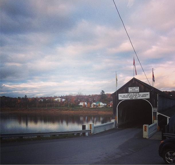 Covered Bridge NEw Brunswick