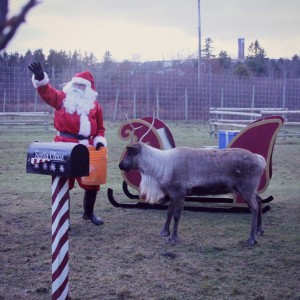 12 Dates of Christmas: A Meeting With Santa (and his reindeer)