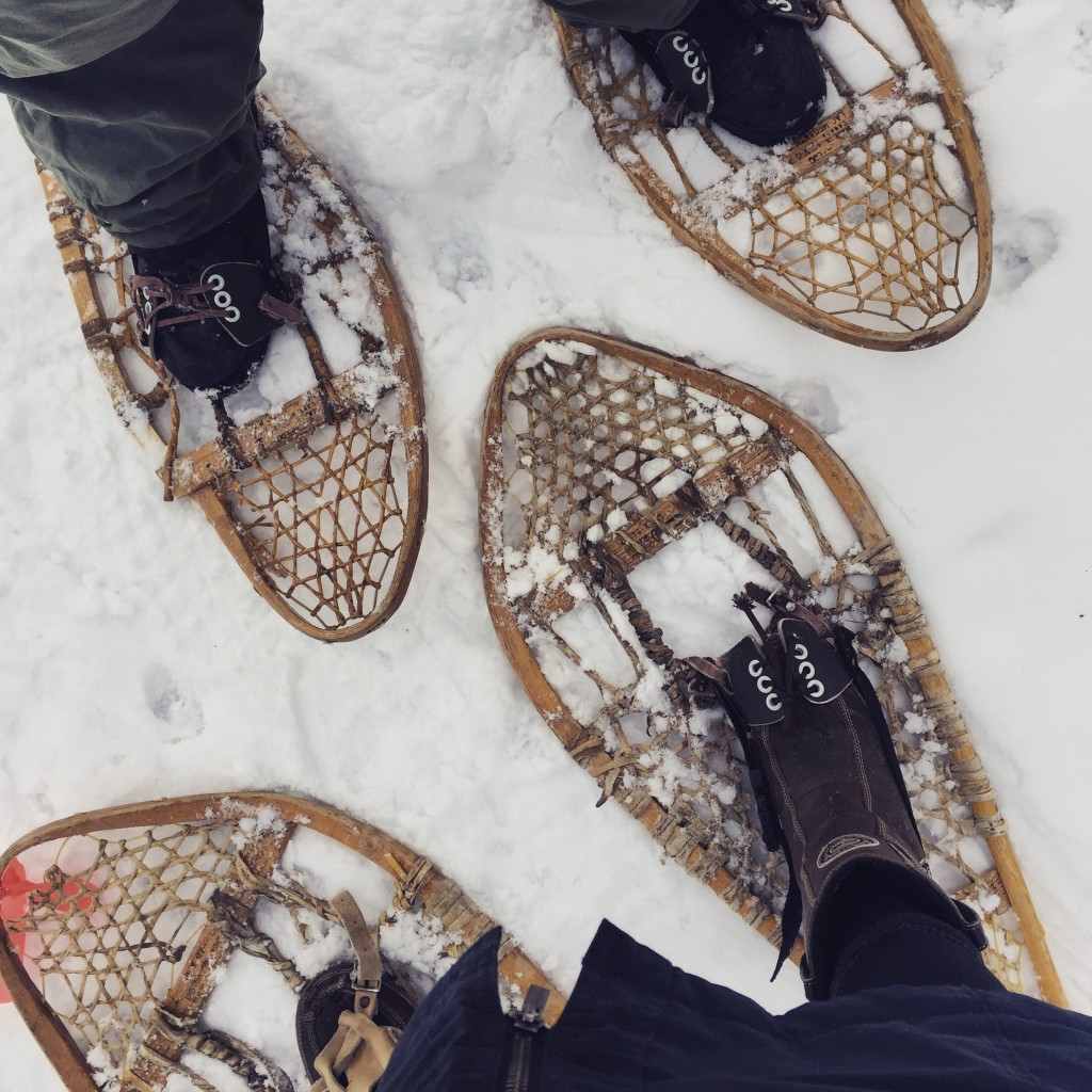 how to get paid to snow shoe