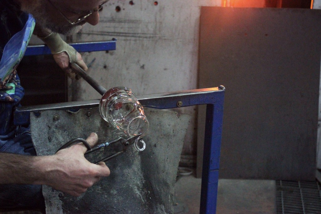 Simon Pearce Glass Vermont