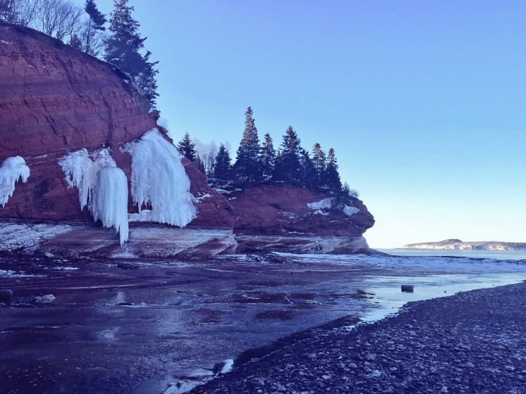 Sea Caves Bay of Fundy
